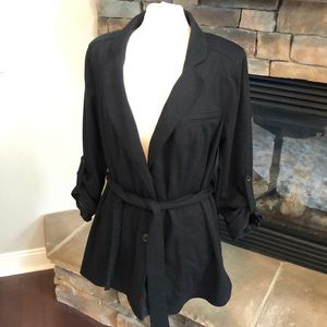 Lane Bryant Cardigan sweater with belt size 20